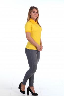Футболка Поло(жёлтый)